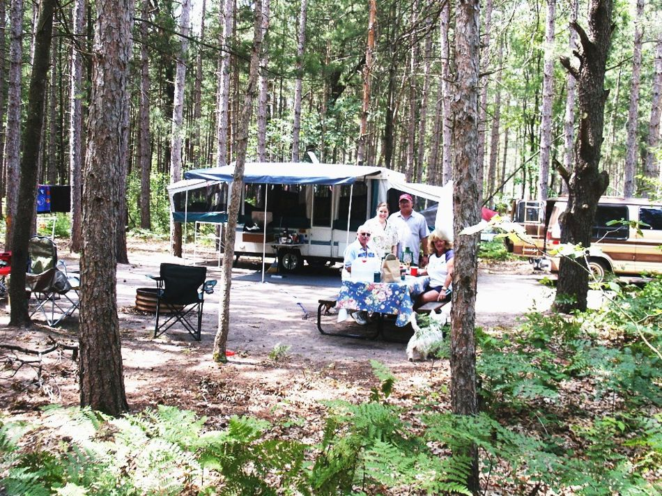 twin oaks campground and cabins michigan picture