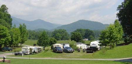 Flaming Arrow Campground Great Smoky Mountains North
