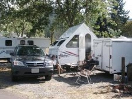 Oakridge Rv Park Central Cascade Range Oregon